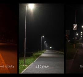 porovnanie svetiel